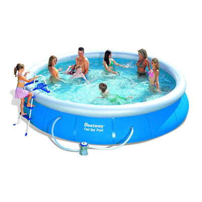 15ft fast set pool bestway the outdoor toy centre tp for Obi fast set pool