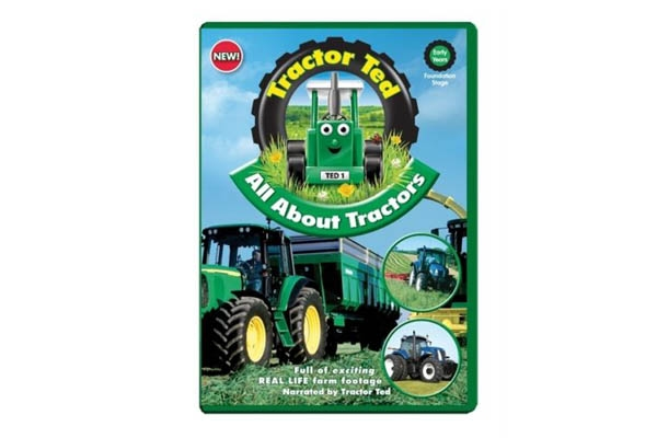 All about tractors DVD