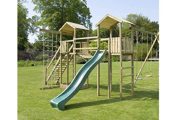 Play Frames Uk all wooden climbing frames - the outdoor toy centre