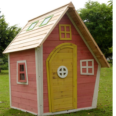 Crooked Cottage Play House - The Outdoor Toy Centre: TP Climbing ...