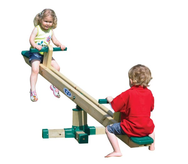 TP Forest Seesaw - The Outdoor Toy Centre: TP Climbing Frames ...