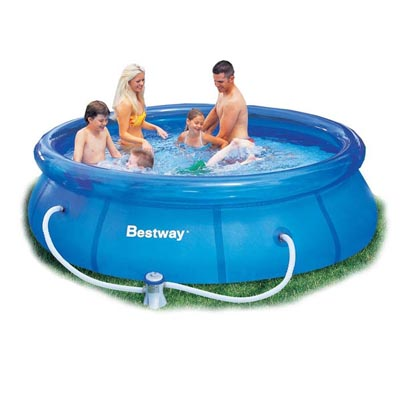10ft fast set pool bestway the outdoor toy centre tp for Bestway pools for sale