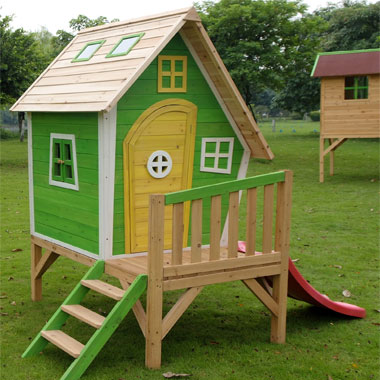 Whacky Tower Play House - The Outdoor Toy Centre: TP Climbing Frames ...