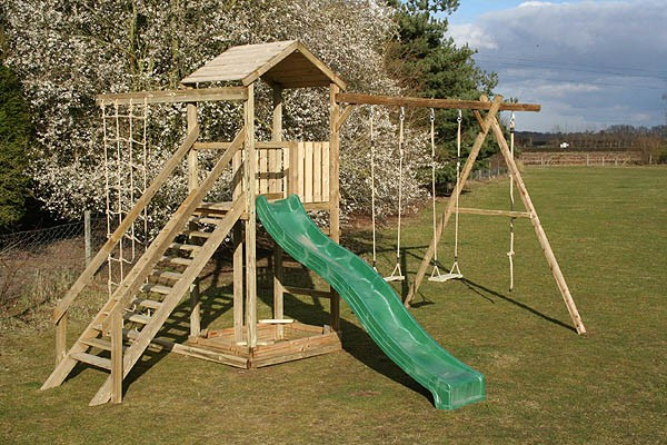 Action climbing frames monmouth the outdoor toy centre for Diy jungle gym ideas