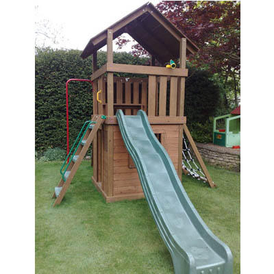 Creative Playthings Williamsburg with Playhouse Set 2 - The Outdoor ...