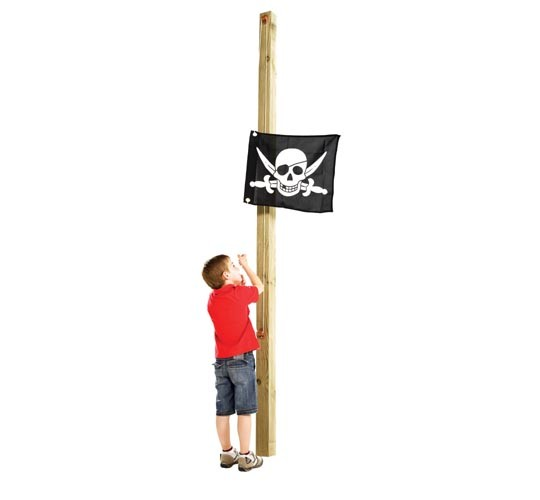 Pirate Flag and Hoist - The Outdoor Toy Centre: TP Climbing Frames ...