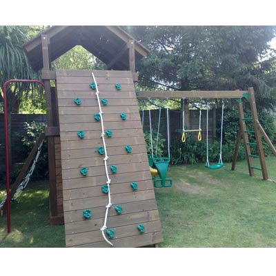 Creative playthings lexington and swing set 3 the for Swing set frame only