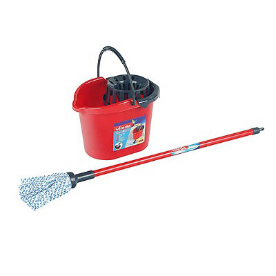 Vileda Mop And Bucket Set The Outdoor Toy Centre