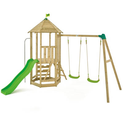 All Wooden Swing Frames - The Outdoor Toy Centre: TP Climbing Frames ...