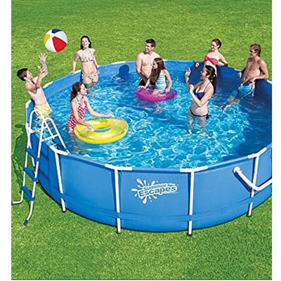 Garden Leisure 12ft X 36 Steel Framed Above Ground Pool Family Swimming Pool The Outdoor