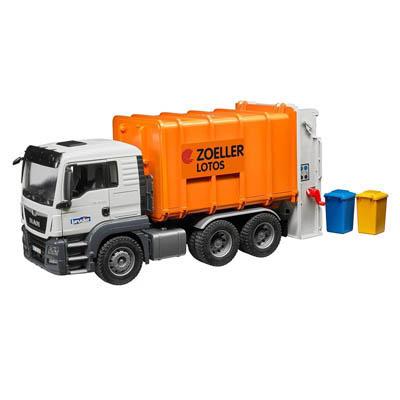 bruder toys garbage dustbin lorry 03762 children s toy garbage